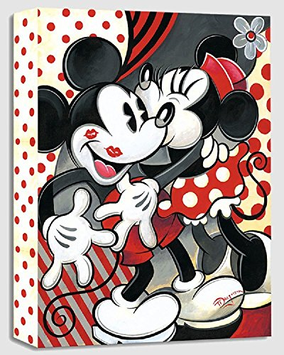 Hugs and Kisses by Tim Rogerson - Treasures on Canvas - Disney Fine Art Featuring Mickey & Minnie Mouse by Disney Fine Art