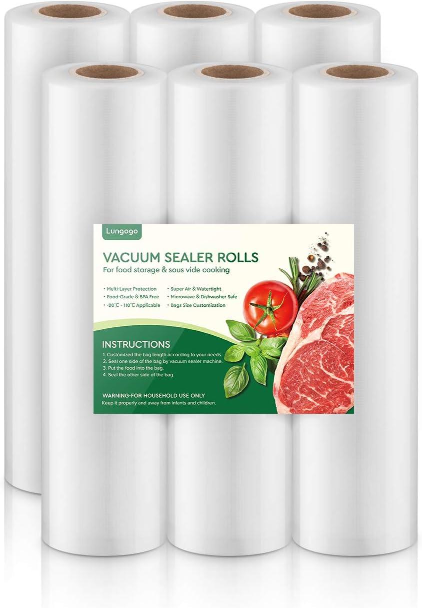 5M Rolls Vacuum Sealer Bags Food Sealed Bag For Kitchen Food Vacuum Saver Bags