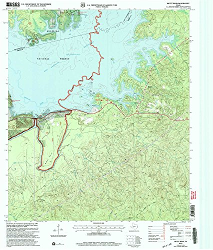 McGee Bend TX topo map, 1:24000 scale, 7.5 X 7.5 Minute, Historical, 2003, updated 2004, 27.1 x 23.1 IN - - Willow Map Bend