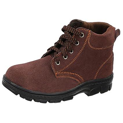 Homyl Zapatos de Seguridad Ocasiones Aplicables Fábrica Mantenimiento hecho de EVA Transpirable - marrón, UE