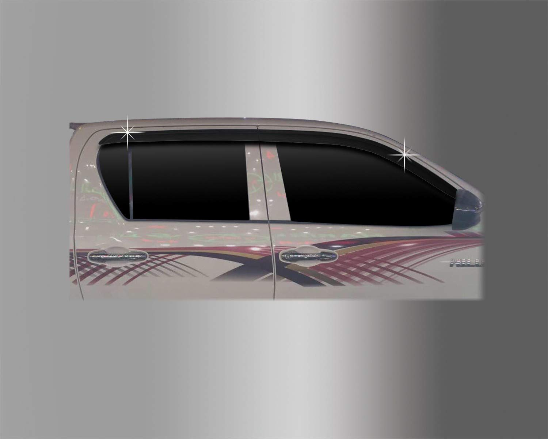 Autoclover Wind Deflectors Set for Toyota Hilux 2016+ 4 pieces