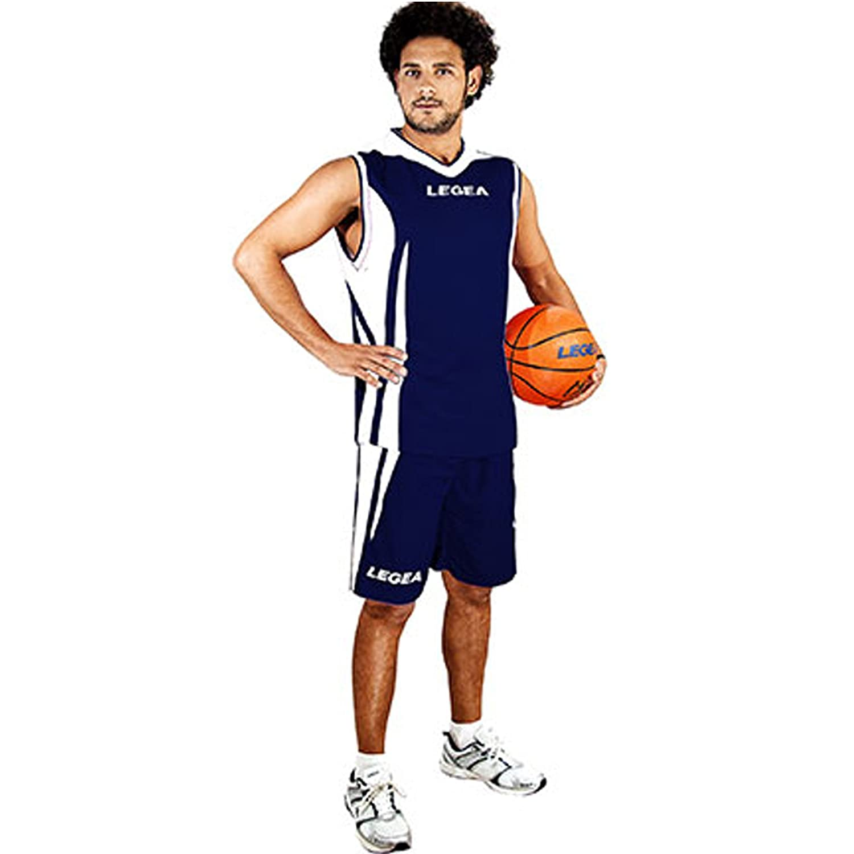 LEGEA Kit Basket Jackson Completo da Basket Uomo TORNEO Partita Sport