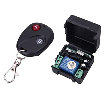 dc 12v relay 2ch wireless rf remote control switch transmitter dc 12v relay 2ch wireless rf remote control switch transmitter receiver 433mhz