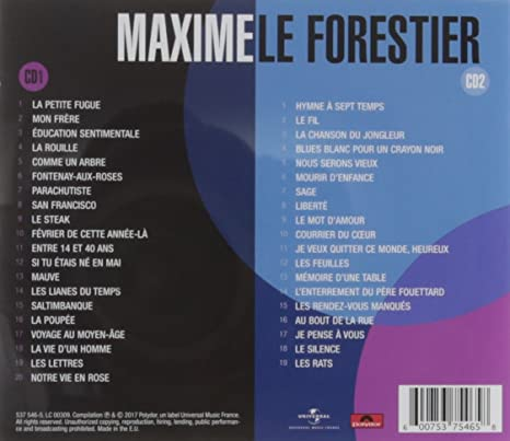 Best Of 70 Maxime Le Forestier Multi Artistes Amazones