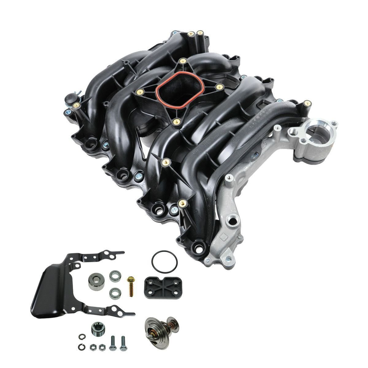 Amazon.com: Intake Manifold w/ Thermostat & Gaskets Kit NEW for Ford  Lincoln Mercury 4.6L V8: Automotive