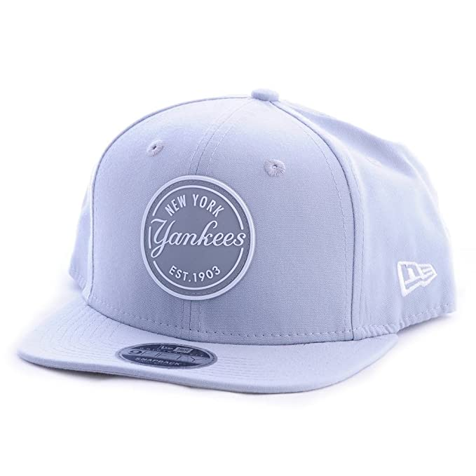 Gorra New Era - 9Fifty Mlb New York Yankees Lic986 gris/blanco ...