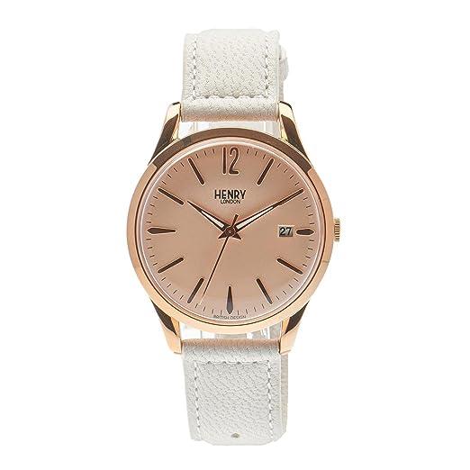 Henry de Londres Unisex Reloj de Pulsera Pimlico analógico de Cuarzo Piel hl39 de S de 0112: Henry London: Amazon.es: Relojes