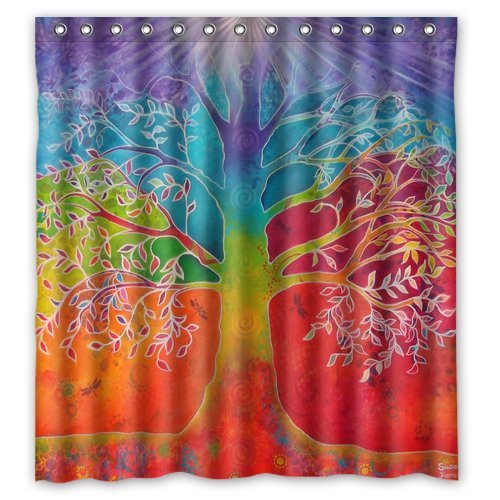 Top Tree Of Life Shower Curtains