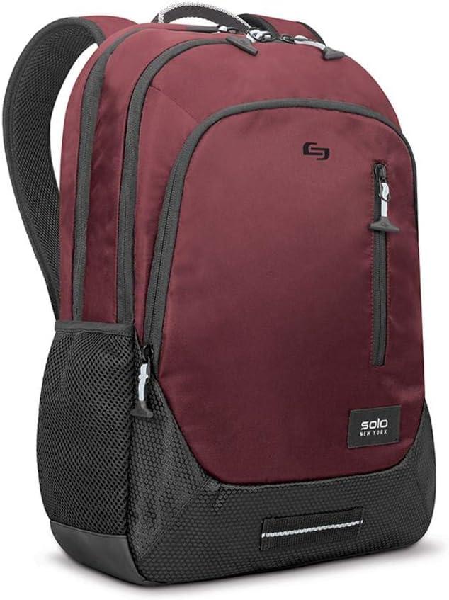 Solo New York Region Laptop Backpack, Burgundy