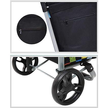 3e5b1732ca71 Amazon.com : SXRNN Shopping Trolley Steel Frame Wear Resistant ...