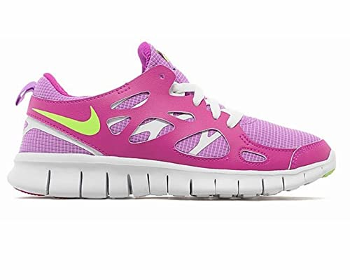 Nike Unisex Child Nike Free Run 2 Gs Trainers  Amazon.co.uk  Shoes ... bbfd95ae7