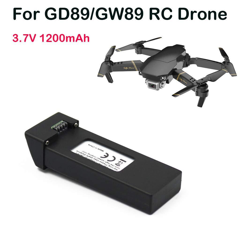 Jfhrfged Compatible con GD89 / GW89 RC Drone 3,7 V 1200 mAh ...