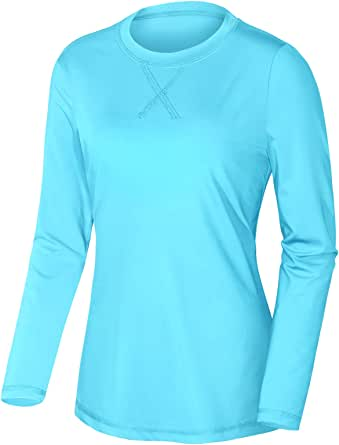 Miusey Women's UPF 50+ Sun Protection T-Shirt Long Sleeve Outdoor Athletic Tops