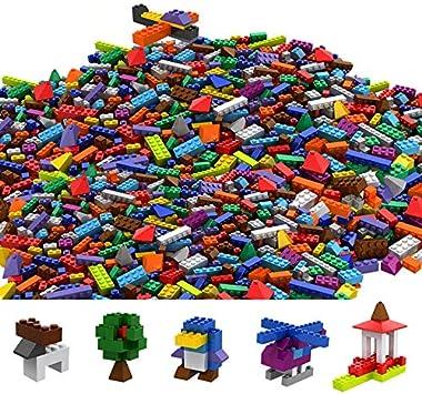 Tumama Juegos de construcción Caja de Ladrillos creativos (1100pcs ...