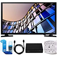 Samsung UN28M4500 27.5 720p Smart LED TV (2017 Model) w/ Tuner Bundle Includes, HD Digital TV Tuner, SurgePro 6-Outlet Surge Adapter w/ Night Light, 6ft. HDMI Cable & Screen Cleaner For LED TVs