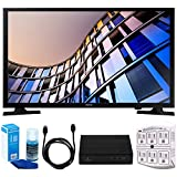 Samsung UN28M4500 27.5'' 720p Smart LED TV (2017 Model) w/ Tuner Bundle Includes, HD Digital TV Tuner, SurgePro 6-Outlet Surge Adapter w/ Night Light, 6ft. HDMI Cable & Screen Cleaner For LED TVs