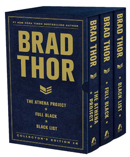 (Brad Thor Collectors' Edition #4: The Athena Project, Full Black, and Black List (The Scot Harvath Series))