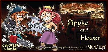Red Dragon Inn Allies Spyke & Flower - Juego de Mesa (Contenido en alemán): Amazon.es: Juguetes y juegos