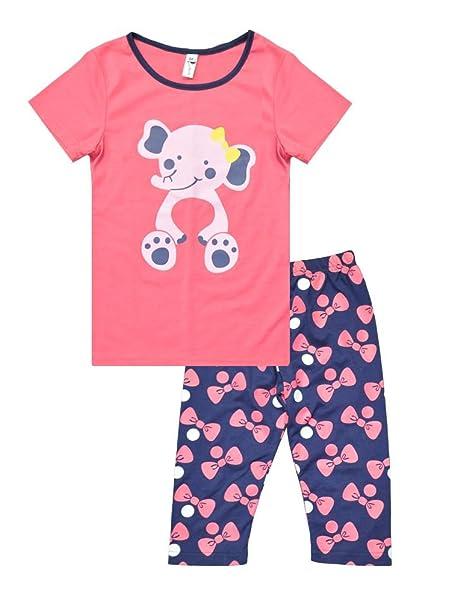 LITTLE HAND - Pijama para Niños de Jirafa 6 Mes - 7 Años (4-