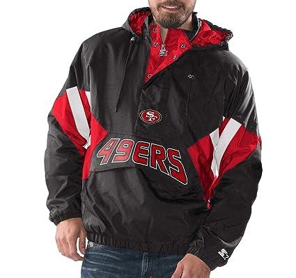 finest selection 8308e 589f6 Amazon.com : San Francisco 49ers Starter Vintage Enforcer ...