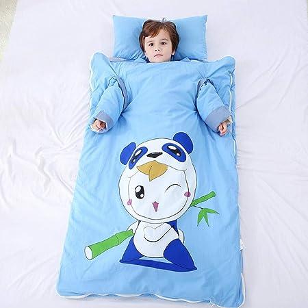 HI SBM per Saco de Dormir para Bebés de,Algodón Cálido Cálido Swaddling Dormir Dormir Saco, Bebé Temperatura Constante Edredón antipatadas-Panda_90 * 150,Pijamas para Bebés de 1-3 Años: Amazon.es: Hogar