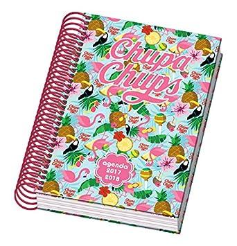 Dohe Chupa Chups Tropic - Agenda escolar día página, A6: Amazon.es: Oficina y papelería