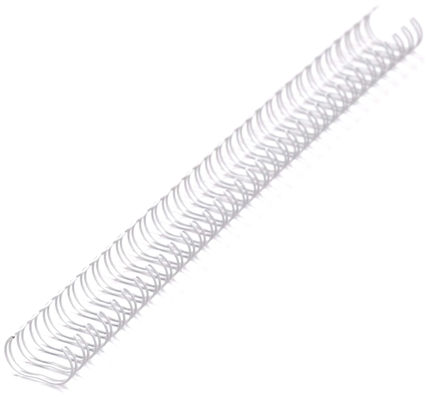 Renz Binding Wires 3:1 34 Loops for 30 Sheets 5.5mm A4 Silver