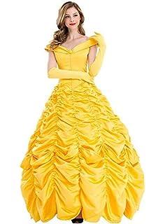 ReliBeauty Damen Kleider Elegant Belle Kostüm Prinzessin