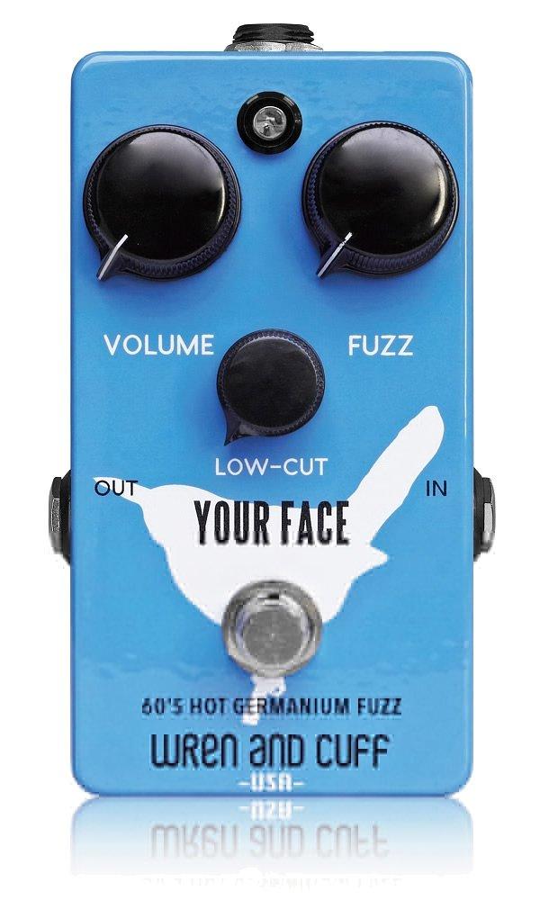 Wren and Cuff Creations レナンドカフクリエイションズ ファズ Your Face 60's Hot Germanium Fuzz 【国内正規品】   B00EOCQHKM