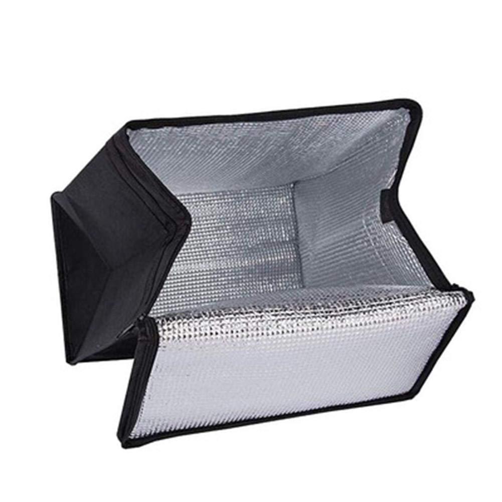Portable Pliable Sac Isotherme Grand Sac De Livraison Daliments Isol/é Convient pour L/épicerie La Livraison De Nourriture Et Le Camping 12,99 8,07 13,97 Pouces. Les Plages Les F/êtes