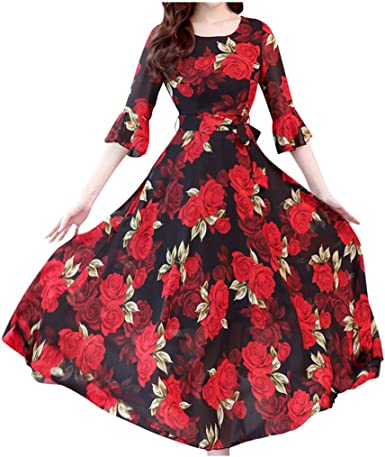 Emma Street Womens 1 Piece Dress with Bows