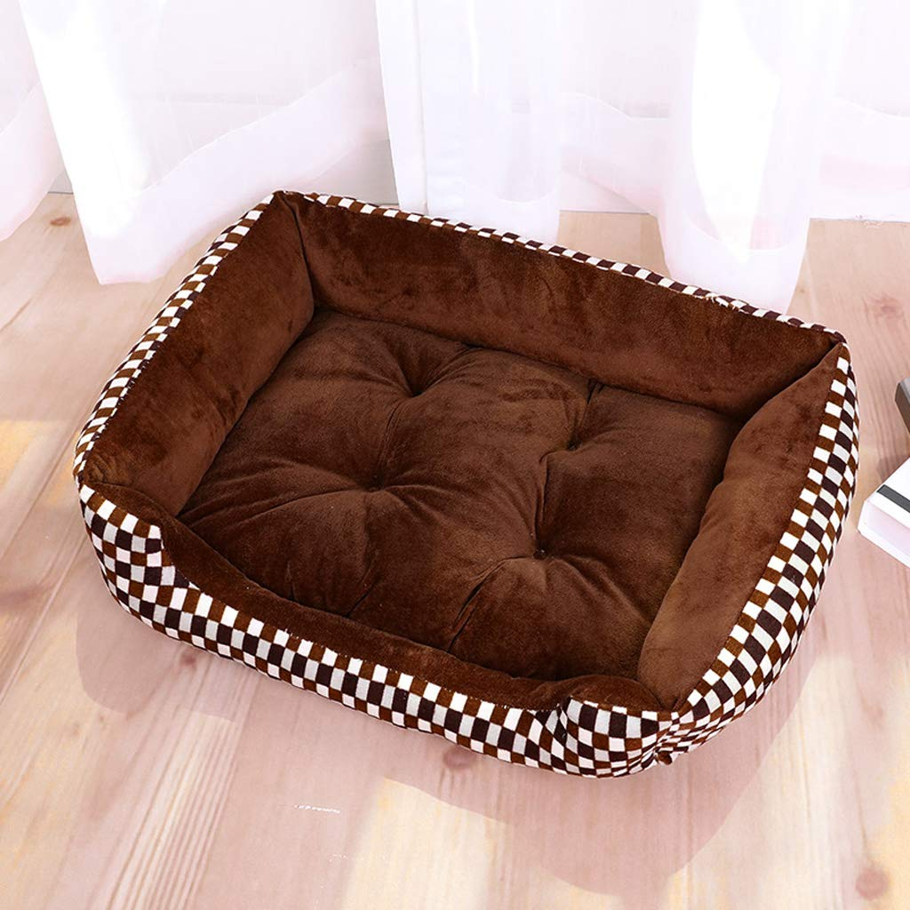 B 60cm B 60cm Kennel winter warm pet nest large dog cat litter dog mat dog house four seasons-60cm