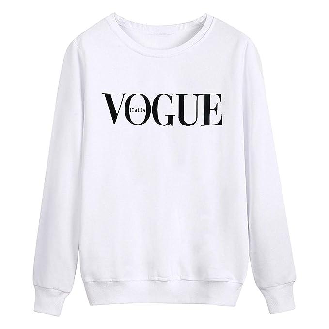 Betrothales Pullover Mujer Elegantes Invierno Camisas Otoño Sweater Casual Manga Larga Sudaderas Cuello Redondo Cómodo Carta Sport Shirt Sudadera Impresión: ...