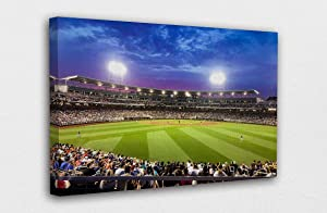 Td Ameritrade Park Omaha Canvas Wall Art Design Living Room Prints Artwork Poster Print Decor for Home & Office Decoration Unframed 24 x 36 INCH Wall Poster
