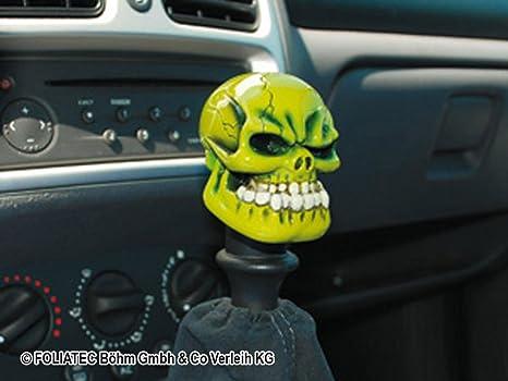 Foliatec Scary Line Ft32628 Short Shift Gear Knob Shift Boot Lever Cuff And Alien Auto