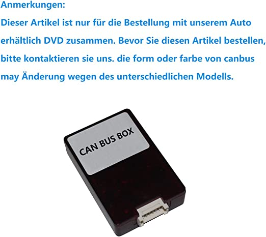 Canbus Decoder Box Nur Speziell Für Autonavigo Auto Dvd Elektronik