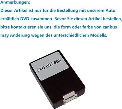 Canbus decodificador caja para autonavigo coche reproductor de DVD Radio estéreo este artículo no se venden por ...