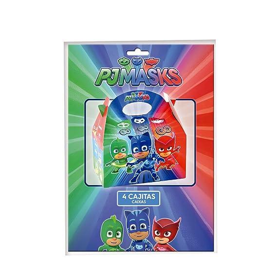 PJ Masks Cajitas para decoración de Fiestas (Verbetena 016001308): Amazon.es: Juguetes y juegos