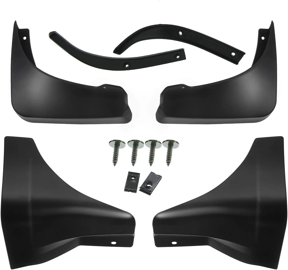 Will not fit 4dr Sedan // Use measurement to make sure it fits your car GTSpeed Made for 03-06 Infiniti G35 2dr Coupe ONLY JDM Rear PU Bumper Lip Mud Splash Guards