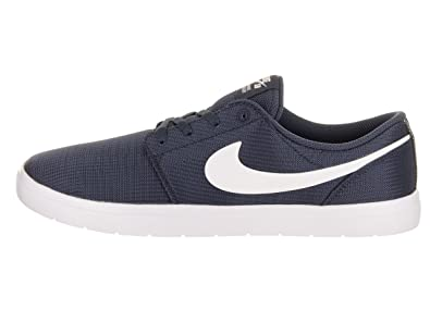 sports shoes 13ec7 73769 Nike Portmore Ultralight Lona Azul  Amazon.fr  Chaussures et Sacs