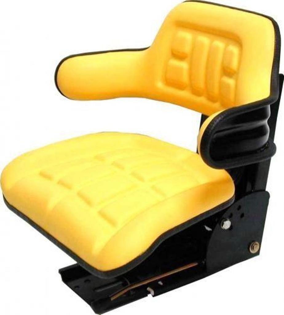 John Deere CC-2 MC1 Kabine Schleppersitz gelb passend Traktor Pilot 1302102