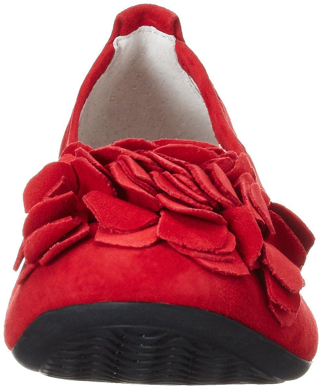 Andrea Conti Damen (Rot) 0097407 Geschlossene Ballerinas Rot (Rot) Damen a07446