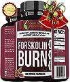 ** MEGA FORSKOLIN BURN ** Best Most Proven Forskolin Supplement - Maximum Potency - Maximum Weight Loss Results - Top Rated Natural Supplement - perdida de peso rapido