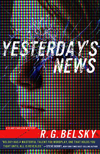 Yesterday's News (Clare Carlson Mystery) cover