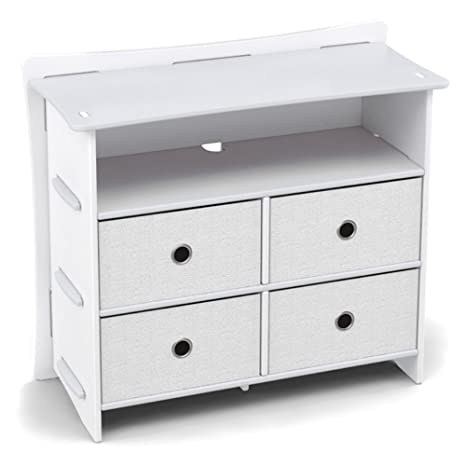 Amazon.com: Legare Classic 4 cajones aparador, color blanco ...
