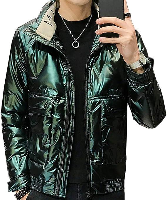 [ZUOMA]白鴨羽毛ジャケットのカッコイイ冬外套男ダウンジャケット男性の冬の新型ファッションブランドのスタンドカラーのショートスタイルのカッコイイコートの服