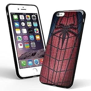 Amazing Spiderman Logo Custom for Iphone Case and Samsung Case (iPhone 6 black)