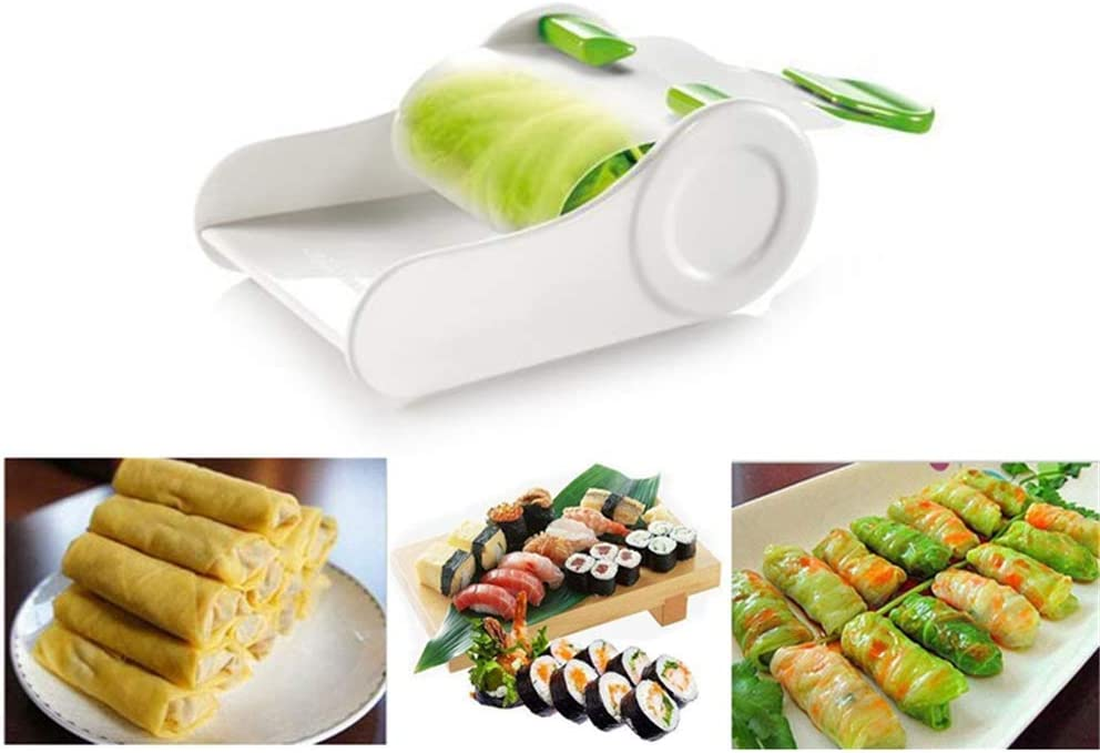 Vegetable Meat Rolling Tool, Grape Leaf Roller Machine Grape Leaves Cabbage Stuffed, Sushi Roll Maker, Meat Roller Stuffed for Home Kitchen Tool