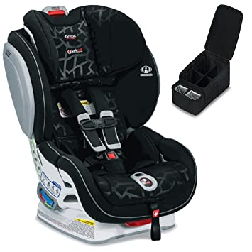 Britax Advocate ClickTight Convertible Car Seat Mosaic Caddy Bundle