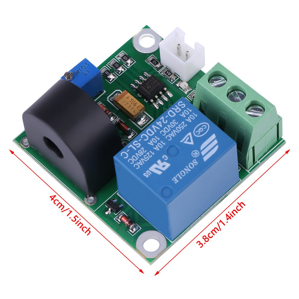AC Current Detection Module 0-10A Switch On-off Output Current Sensor Module by Walfront (Image #4)